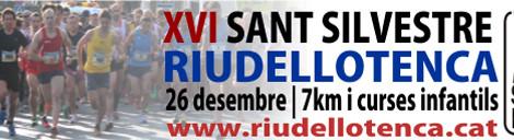 Obertes les inscripcions per la XVI Sant Silvestre Riudellotenca - 26/12/2015